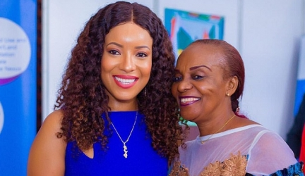 Joselyn Dumas Glows In A Gorgeous Blue Dress At Africa Climate Week