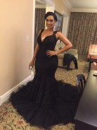 Juliet Ibrahim Wore The Most Amazing Dress At The 2015 AMA Awards
