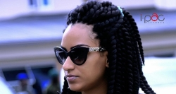 You Can Now Wear Sunglasses That Comes With Hoop Earrings