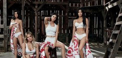 The Kardashian-Jenner Sisters Are All In The New Calvin Klein Underwear Campaign