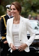 Kate Middleton Shows The Chicest Way To Pull Off White Blazer