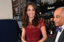 Kate Middleton Looks Gorgeous In Head-To-Toe Red