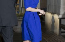 Kate Middleton's Latest Outfit Formula Will Make You Crave For Blue Dress