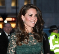 Kate Middleton Looks Gorgeous In A Clingy Lace Dress