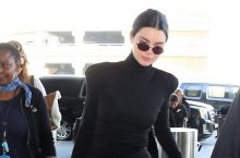 Kendall Jenner Shows The 2018 Way To Wear An All-Black Ensemble
