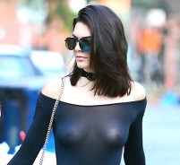 Kendall Jenner Thinks It's Cool To Wear Clothes That Exposes The Nipples