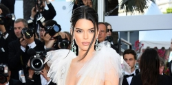 Kendall Jenner Is Wearing Only The Naked Dress At Cannes Film Festival