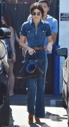 Kendall Jenner's High-Waisted 70's Denim Jumsuit Style Will Make You Swoon