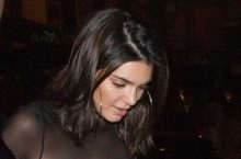 Kendall Jenner Gave An Eyeful Of Her Breast In A Revealing Top