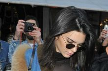 Kendall Jenner Left Nothing To The Imagination On The Street Of Paris