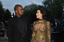Kim Kardashian Killed It Again In A Barely There Sheer Maxi Gown