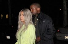 Kim Kardashian Matched Her Hair To Pants For A Date Night With Kanye