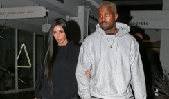 Kim Kardashian Wears Another Seriously Distressed Jeans