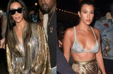 These Are What Kim And Kourtney Kardashian Wore To Party In Paris Last Night