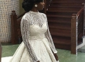 Designer Kunbi Oyelese Made Her Own Wedding Dress And The Details Are Insanely Amazing