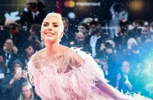 You'll Fall Hard For Lady Gaga's Dramatic Gown At Venice Film Festival