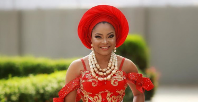 Even If You Don't Like Traditional Wedding, You'll Fall In Love With Linda Ejiofor's Dress