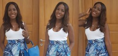 Linda Ikeji Wore The Maxi Skirt You'll Want To Live In Every Weekend