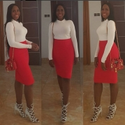 Linda Ikeji Just Showed Us The Cool-Girl Way To Dress For Work