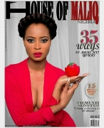 Ex Beauty Queen Omowunmi Akinnifesi Glows On The Cover Of House Of Maliq January Issue