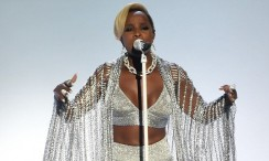 Mary J. Blige Transported Herself Into The Future In This Chainmail Ensemble