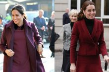 Meghan Markle And Kate Middleton Are Like Sisters In Matching Outfits