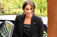 Meghan Markle Is So Much Style Inspiration In This Black Tuxedo