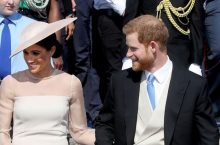 Meghan Markle Looks Sensational In Her First Outing With Prince Harry After The Royal Wedding