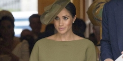 Meghan Markle Looked Completely Elegant In An All Olive Green Look