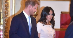 Meghan Markle Looks Sleek In A Pink Prada Dress At Queen's Young Leaders Awards
