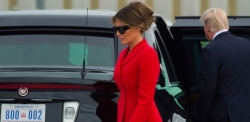 Melania Trump Wearing Red Suit Will Inspire You To Add One To Your Wardrobe
