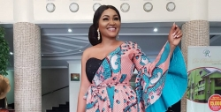 Mercy Aigbe Wore A 2-in-1 Dress And You Won't Even Notice