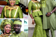 7 Nigerian Celebrity Couples That Like To Dress Alike