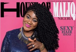 Mercy Johnson Looks Insanely Gorgeous In Wrap Dress On House Of Maliq Cover