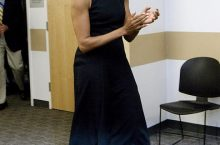 9 Photos Of Michelle Obama That Prove Little Black Dress Is All We Need This Season