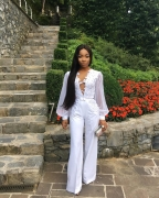 Mocheddah And Stephanie Coker's Wedding-Guest Style Is So Good — It's Like They Were The Bride