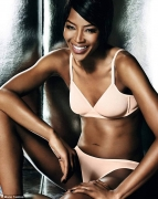 You Have To See Supermodel Naomi Campbell's New Lingerie Campaign