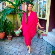 Monalisa Chinda Looks Gorgeous In Rare Public Appearance At Movie Premiere