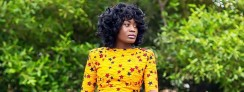 Actress Nana Akua Addo Just Wore The Coolest Ankara Style You'll Want To Cpoy