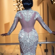 Nana Akua Addo Slayed The Glitz Style Awards In 1,323,000 Swarovski Crystal Gown