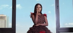 Actress Nana Akua Addo Was A Dream In A Disney Princess Dress At AFRIMA Awards 2017