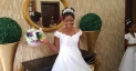 The Bride's Wedding Gown Is Cute But Her Story Will Leave You In Tears Of Joy