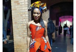 You've Never Seen Ankara Dress So Gorgeous Until This One Nomzamo Mbatha Wore To #MBFWJ16