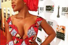 This SA Actress Nomzamo Mbatha Wore Ankara Like You've Never Seen Before