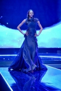 "Nigerian Top Model, Oluchi Orlandi Graced the Runway in David Tlale at MNet's ""Galaxy of the Stars"" Gala"