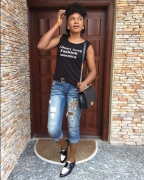 5 Omoni Oboli's Going-Out Shoes That'll Actually Look Flattering On Any Woman