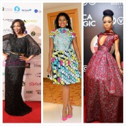 25 Most Breathtaking Red Carpet Dresses Nigerian Celebs Wore in 2014