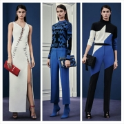 Versace Pre-Fall 2015: Clean and Bold.