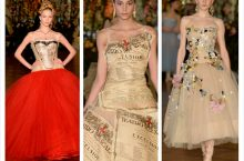 Dolce & Gabbana Alta Moda S/S 2015: Ballet Meets High Fashion