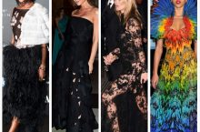 Naomi Campbell Looked Super Chic, Kate Moss Turned Heads  and Others at Alexander McQueen Gala Dinner